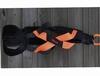 X-back trekharnas Orange-Crush (Nylon)